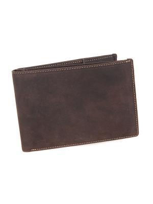 Бумажник 726 Visconti. Цвет: коричневый