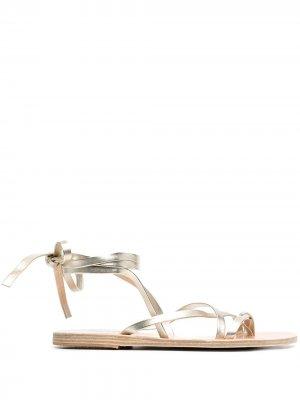 Сандалии Morfin Ancient Greek Sandals. Цвет: золотистый
