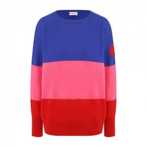 Кашемировый пуловер Moncler. Цвет: разноцветный
