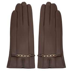 Перчатки Alla Pugachova AP33130-1-brown-21Z. Цвет: коричневый