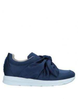 Низкие кеды и кроссовки 181 by ALBERTO GOZZI. Цвет: синий