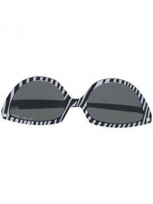 Солнцезащитные очки SOS в оправе кошачий глаз Mykita. Цвет: черный