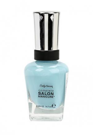 Лак для ногтей Sally Hansen Complete Salon Manicure, 716 Magic Carpet Ride, 14 мл. Цвет: голубой