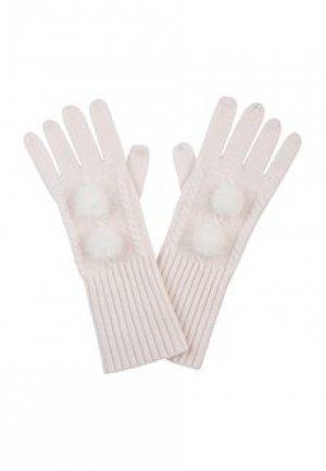Перчатки MAX & MOI. Цвет: белый