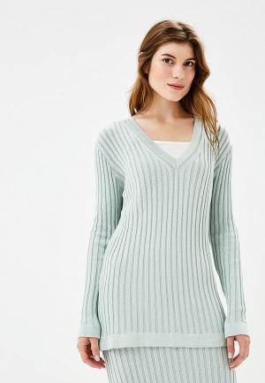 Пуловер Laroom. Цвет: голубой