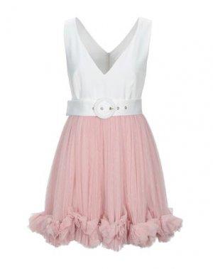 Короткое платье BABYLON. Цвет: розовый