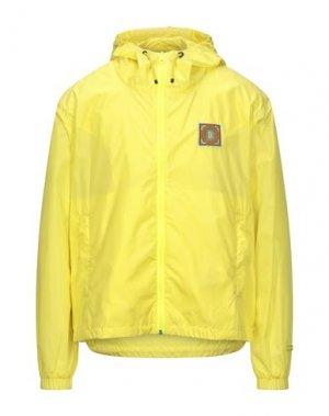 Куртка DUVETICA. Цвет: желтый