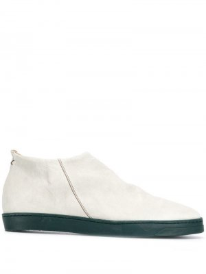 Ботинки на плоской подошве Fiorentini + Baker. Цвет: серый