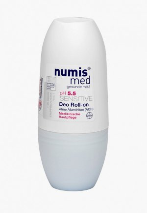 Дезодорант Numis Med СЕНСИТИВ рН 5,5, 50 мл. Цвет: прозрачный