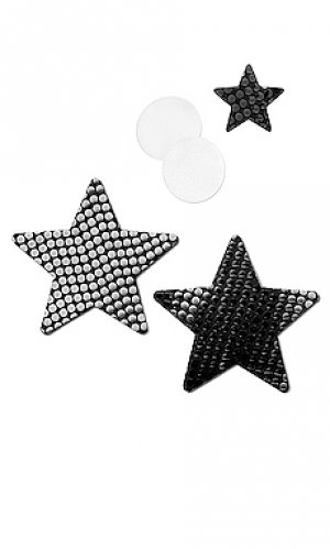 Blackout sequin star nippie Bristols6. Цвет: черный