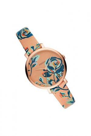 Наручные часы Fossil. Цвет: бежевый