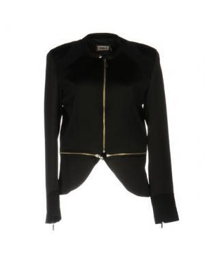 Куртка MET JEANS. Цвет: черный