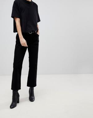 f219781ba13 Черные женские расклешенные джинсы купить в интернет-магазине ...