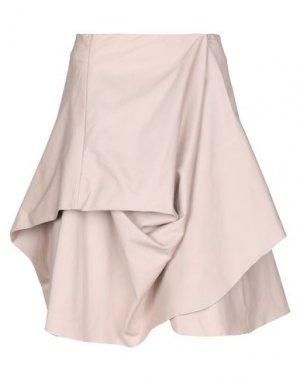 Юбка до колена ANDREA TURCHI. Цвет: светло-розовый