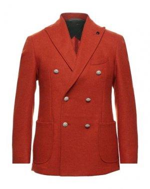 Пиджак GH. Цвет: красный