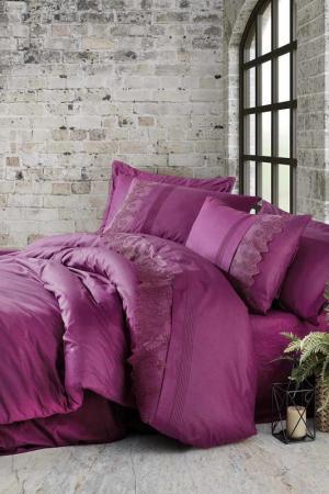 Double quilt cover set Cotton box. Цвет: violet