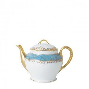 Чайник Eden Turquoise Bernardaud. Цвет: синий