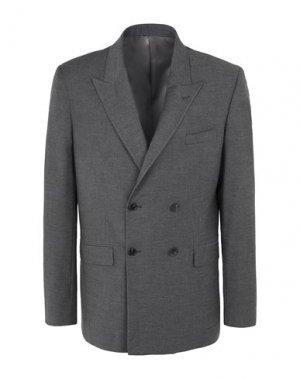 Пиджак 8 by YOOX. Цвет: стальной серый