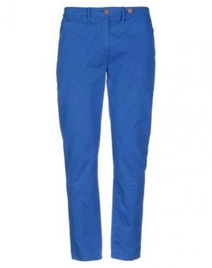 Повседневные брюки AIGLE. Цвет: ярко-синий
