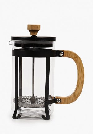 Кофеварка Walmer Bamboo, 0.6 л. Цвет: прозрачный
