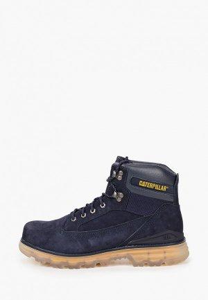 Ботинки Caterpillar BASEPLATE. Цвет: синий