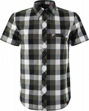 Рубашка с коротким рукавом мужская , размер 54 Northland. Цвет: черный