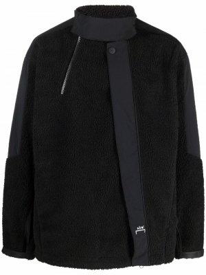 Флисовая куртка со вставками A-COLD-WALL*. Цвет: черный