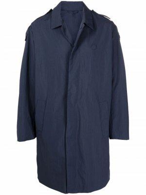 Куртка-рубашка на пуговицах Kenzo. Цвет: синий