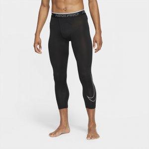 Мужские тайтсы длиной 3/4 Pro Dri-FIT - Черный Nike