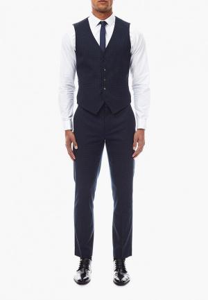 Жилет Burton Menswear London BU014EMCXNA3. Цвет: синий
