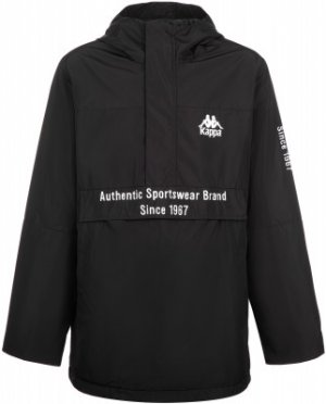 Куртка утепленная для мальчиков , размер 152 Kappa. Цвет: черный