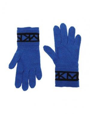 Перчатки MICHAEL KORS. Цвет: ярко-синий