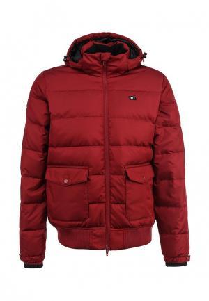 Пуховик K1X 1st pick down jacket. Цвет: бордовый