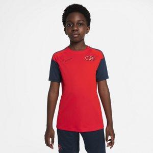 Игровая футболка с коротким рукавом для школьников Dri-FIT CR7 - Красный Nike