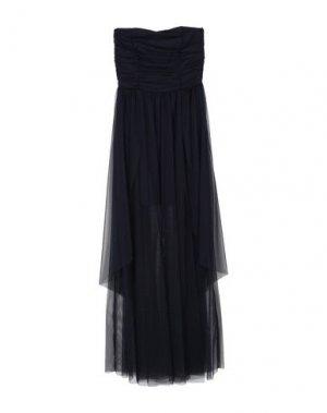 Длинное платье TWENTY EASY by KAOS. Цвет: темно-синий