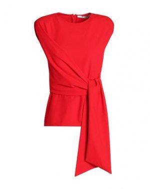 Блузка CHALAYAN. Цвет: красный