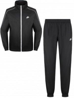 Спортивный костюм мужской Sportswear, размер 54-56 Nike. Цвет: черный