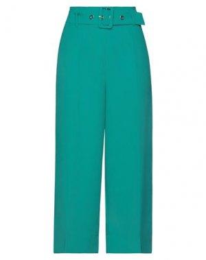 Повседневные брюки GAUDÌ. Цвет: зеленый