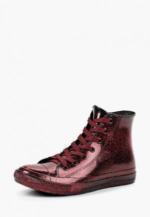Резиновые ботинки Mon Ami. Цвет: бордовый
