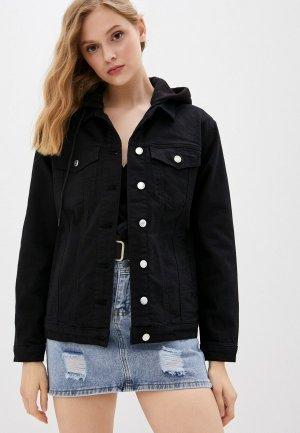Куртка джинсовая Mavi KARLA. Цвет: черный