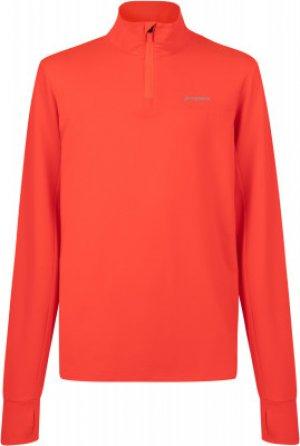 Лонгслив для мальчиков , размер 134 Demix. Цвет: оранжевый