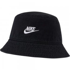 Unisex Bucket Cap Futura Wash Nike. Цвет: черный
