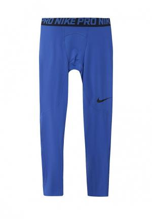 Тайтсы Nike Mens Pro Tights. Цвет: синий