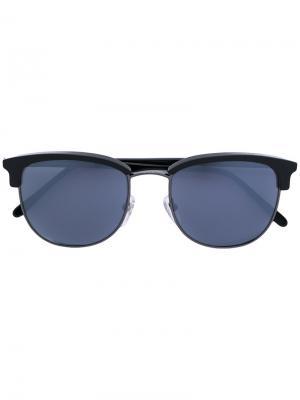 Солнцезащитные очки в квадратной оправе Retrosuperfuture. Цвет: чёрный