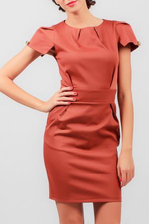 Платье Carla Giannini. Цвет: красный