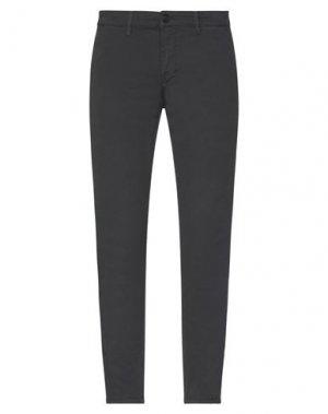 Повседневные брюки HAMAKI-HO. Цвет: стальной серый
