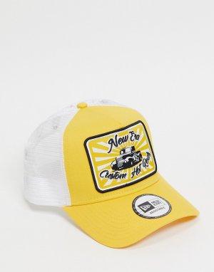 Желтая бейсболка -Желтый New Era