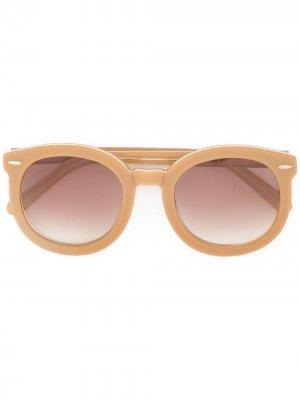 Солнцезащитные очки Super Duper Karen Walker. Цвет: коричневый