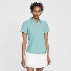 Женская рубашка-поло для гольфа Nike Flex Ace - Зеленый
