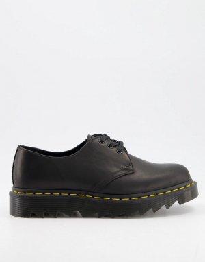 Черные ботинки 1461-Черный цвет Dr Martens